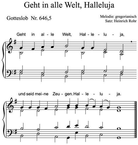 Halleluja Gotteslob